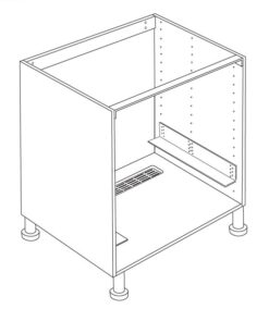 Base Cabinet Oven for IKEA Faktum