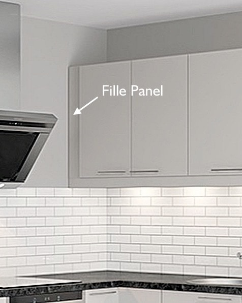 Filler Panel for IKEA Faktum kitchens