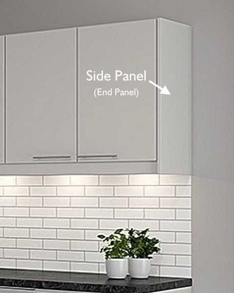 End Panel for IKEA Faktum kitchens