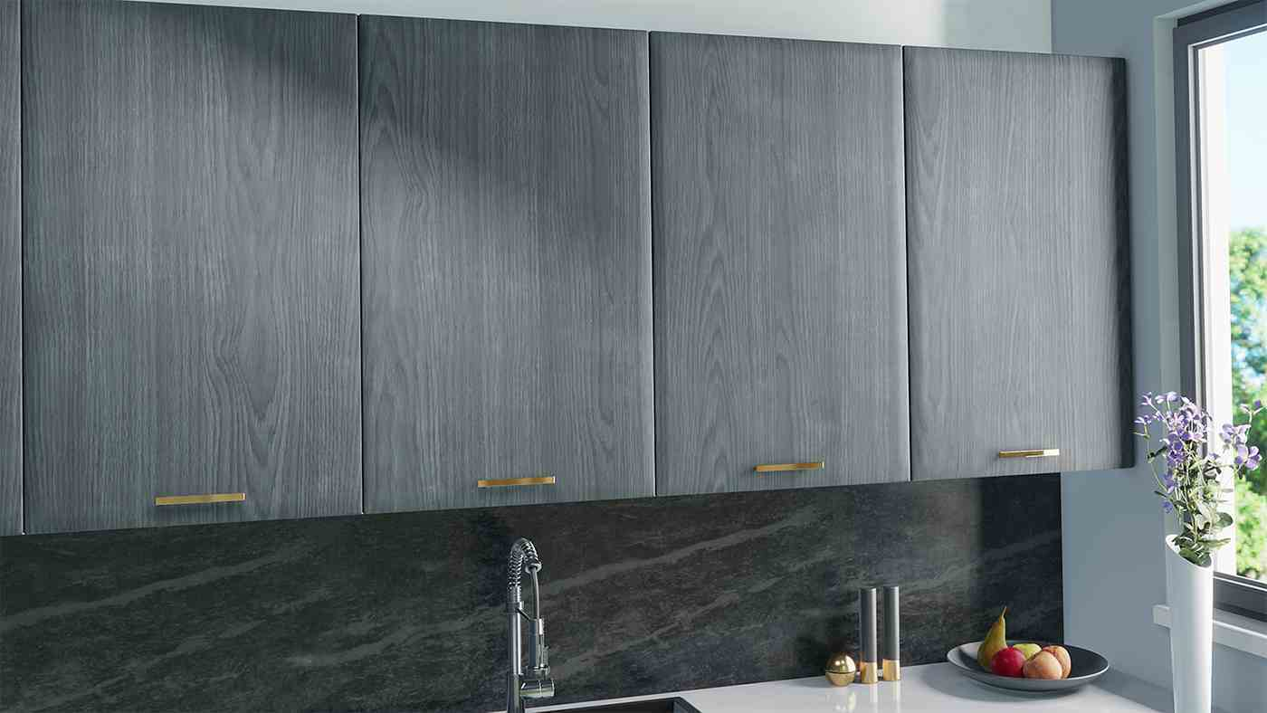 Kitchen Cabinet doorsa for IKEA Faktum in Pearl Grey