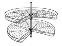 2 Swivel Wheel Carousel for an IKEA Faktum corner cabinet