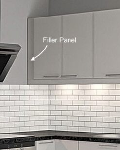 Filler Panel for an IKEA Faktum kitchen