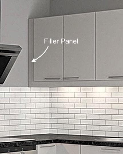 Filler Panel for an IKEA Faktum kitchen